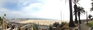 Santa Monica Beach from Ocean Ave for Sam