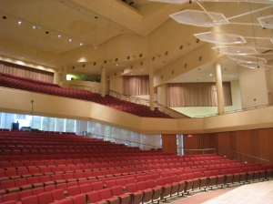 Pick-Stayger Concert Hall at Northwestern